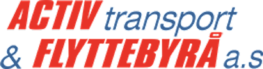 Logo Activ Transport og Flyttebyrå AS